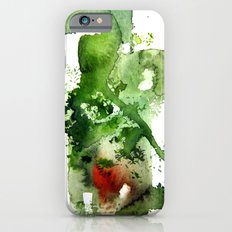 Watercolor Green iPhone 6s Slim Case