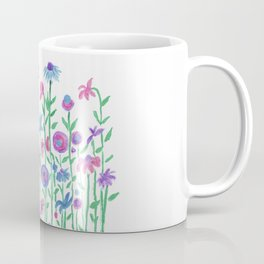 Cheerful spring flowers watercolor Coffee Mug