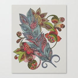 One little feather Canvas Print