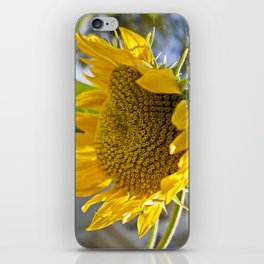 Take Cover [SUNFLOWER] iPhone Skin