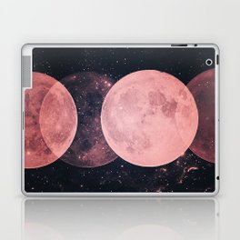 Pink Moon Phases Laptop & iPad Skin