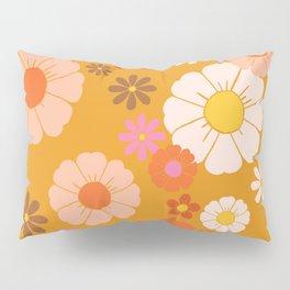 Groovy Mod 60's Flower Power Pillow Sham