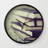 inspiration Wall Clocks featuring Inspiration by Angela Fanton