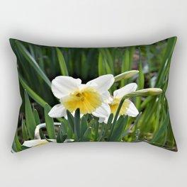 Daffodils in Morning Sun Rectangular Pillow