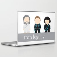 tron Laptop & iPad Skins featuring Tron by mikesmiy