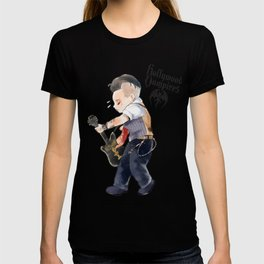 a vampire guitarist Johnny chibi T-shirt