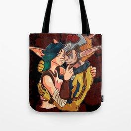 Keira and Erol Tote Bag