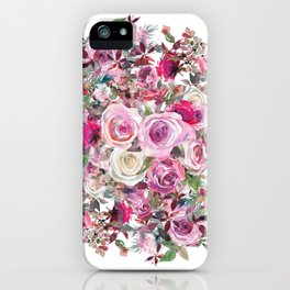 Bouquet of flowers - wreath iPhone Case