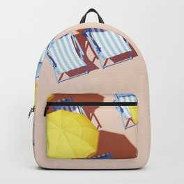 Beach Resort Ready For Business Backpack