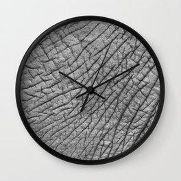 Elephant skin Wall Clock