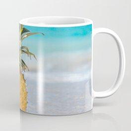 Aloha Pineapple Beach Kanahā Maui Hawaii Coffee Mug