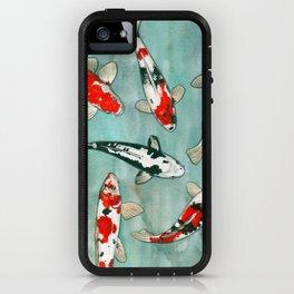 Le ballet des carpes koi iPhone Case