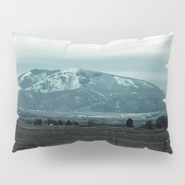 Snowy mountain Pillow Sham
