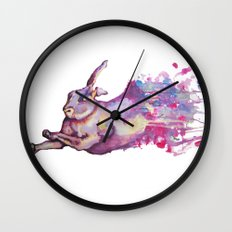 In which there is a rabbit-splosion  Wall Clock