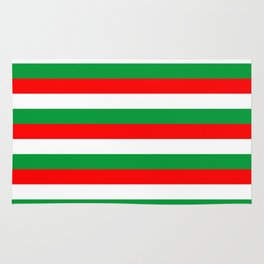 italy hungary bulgaria iran mexico Madagascar flag stripes Rug