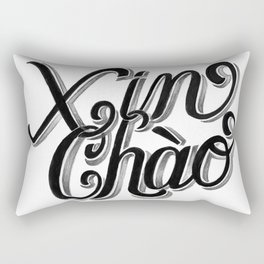 Xin Chào, Vietnam Rectangular Pillow
