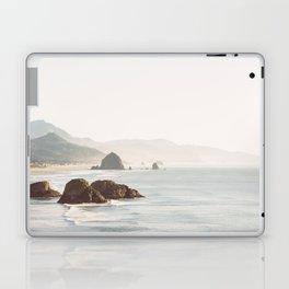 overlooking cannon beach Laptop & iPad Skin