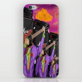 Guitar Faces in G major iPhone Skin