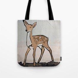 Digital Pop Art Modern Deer Tote Bag