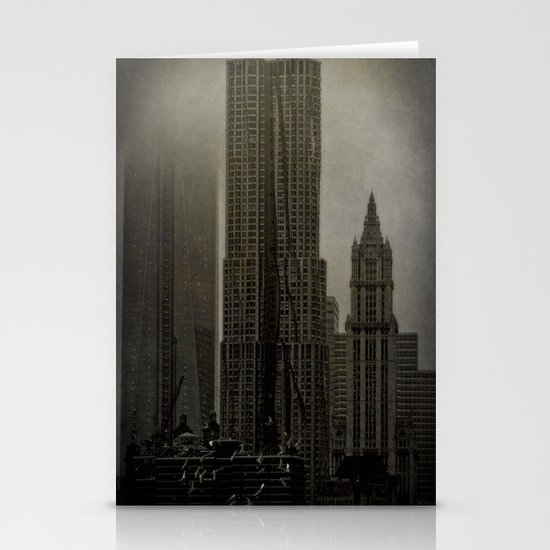 Concrete, Steel & Glass Stationery Cards