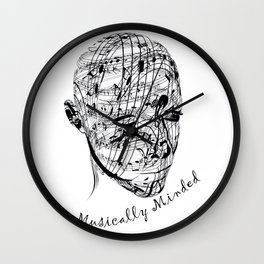 Musically Minded Wall Clock