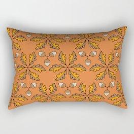 Autumn Acorns Rectangular Pillow