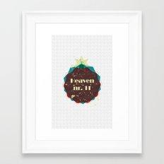 Heaven nr 11 Framed Art Print