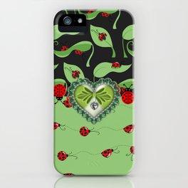 Miss Ladybugz iPhone Case