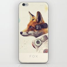 Star Team - Fox iPhone Skin