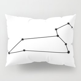 Leo Astrology Star Sign Minimal Pillow Sham