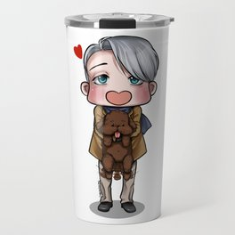 Viktor and Makkachin Travel Mug