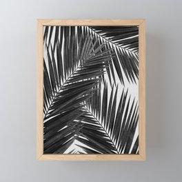 Palm Leaf Black & White III Framed Mini Art Print
