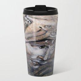 """Wolfquest"" - original is guache. Travel Mug"