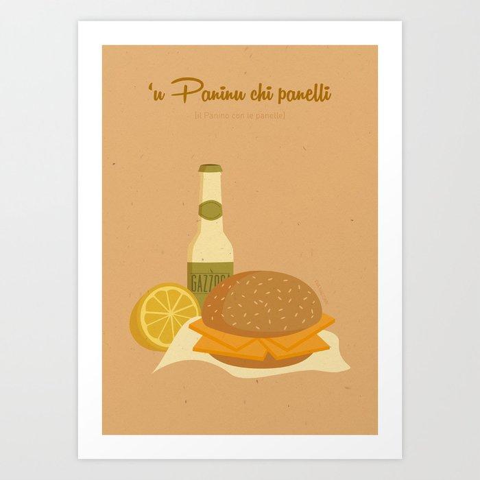 'U Paninu chi panelli Art Print