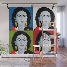 Four Fridas Wall Mural