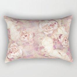 FADED ROSES Rectangular Pillow
