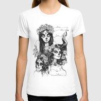 dia de los muertos T-shirts featuring Dia de los Muertos by Khaedin