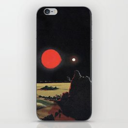 Binary Wasteland iPhone Skin