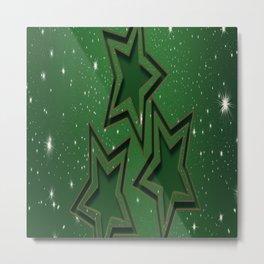 Christmas holidays greetings Metal Print