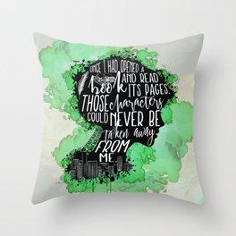 New World Rising - A Book Throw Pillow