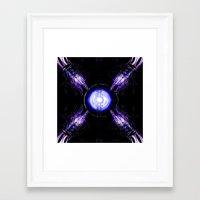 ouija Framed Art Prints featuring Ouija by Vibrance MMN