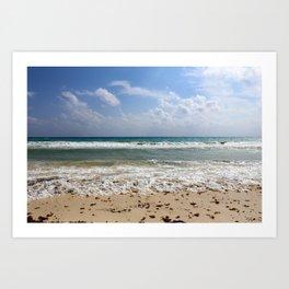 Playa del Carmen Beach Art Print