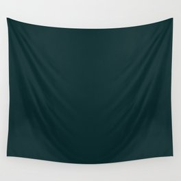Sparkling Water ~ Dark Green-Blue Wall Tapestry