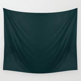 Sparkling Water ~ Dark Green-Blue Wall Tapestry