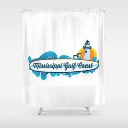 Mississippi's Gulf Coast. Shower Curtain