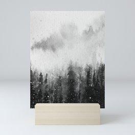 Forest Snow Mini Art Print