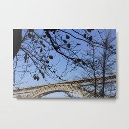 The tree and the bridge Metal Print