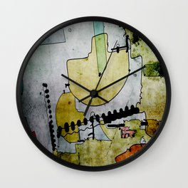 Old Market Place Wall Clock