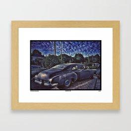 Cooked Car Framed Art Print