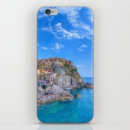 Manarola is a beautiful small town in the province of La Spezia iPhone Skin
